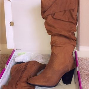 Brown Boots with heel